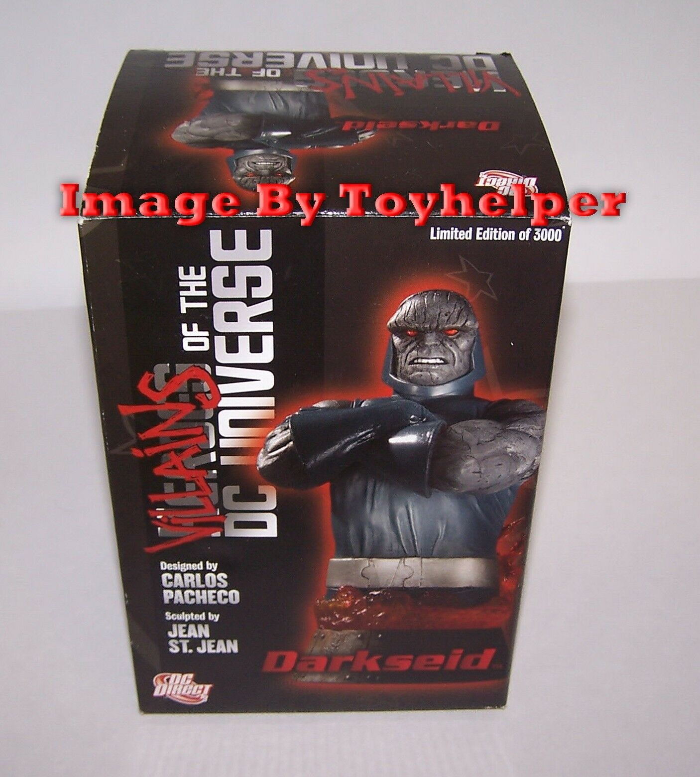 Darkseid Villains of the DC Universe 6  Bust DC Direct  395/3000 NIB