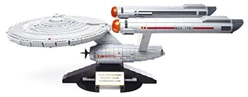 Mega Bloks Star Trek U.s.s Enterprise Ncc-1701 Collector Construction Set New