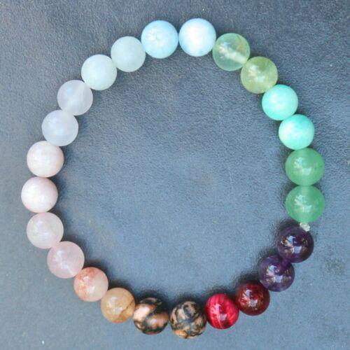 DIY Stress Relief Calm Calming Anxiety Crystal Gemstone Healing Bracelet