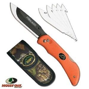 New Outdoor Edge Razor-Blaze remplaçable lame couteau pliant et 6 lames & gaine-afficher le titre d`origine dqH5HI13-07154833-482601871