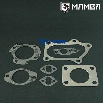 Exhaust Stud /& Nut Kit W// Siruda Gasket Fits Toyota Mark II JZX110 1JZ-GTE VVTI
