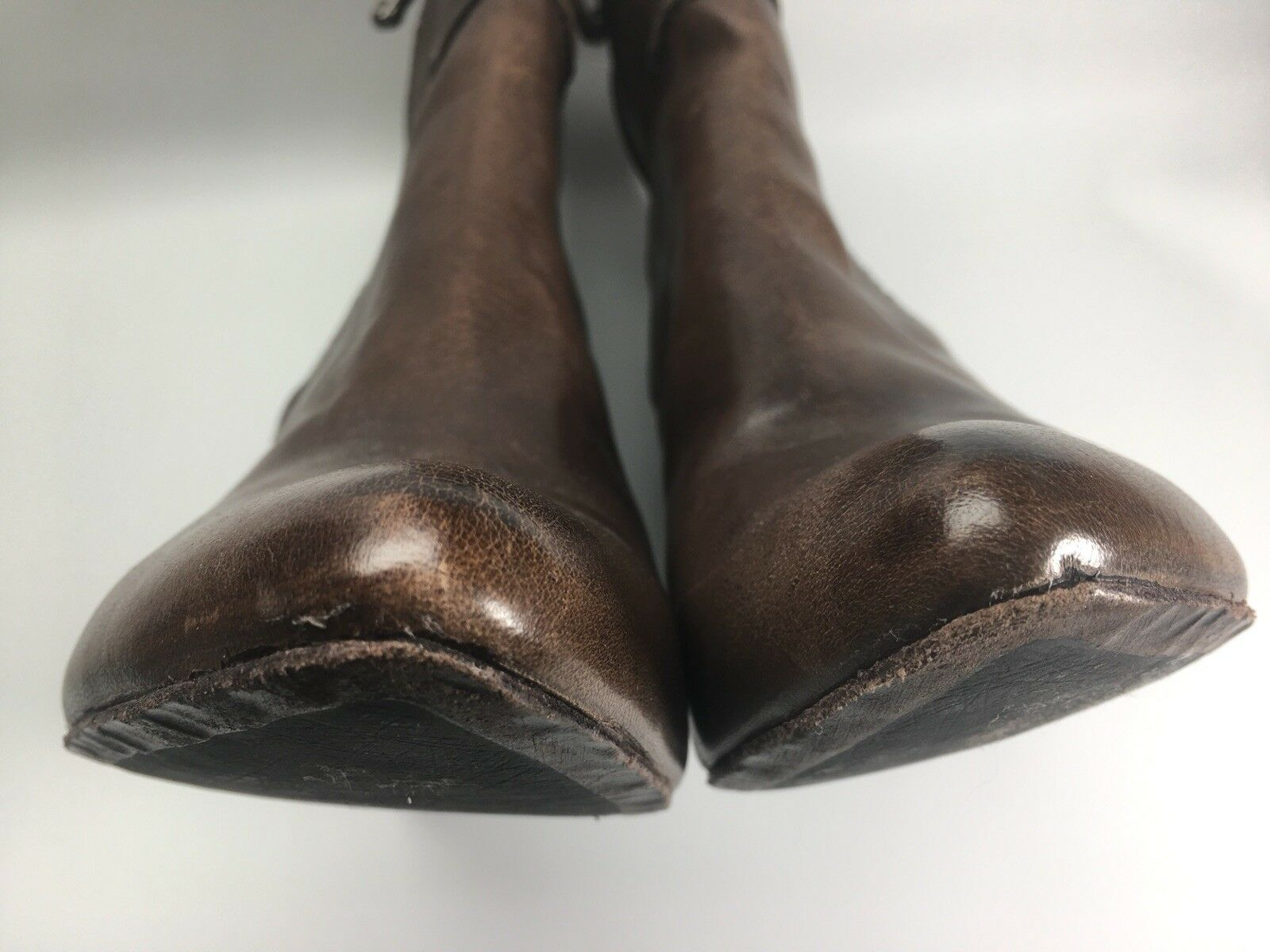 Frye Regina Regina Regina Seam Wedge Boots Charcoal Smooth Vintage Leather 8.5 Retailed  328 f45bfc