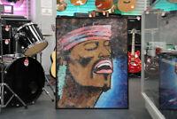 Jimi Hendrix Painting Winnipeg Manitoba Preview