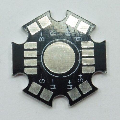 4W LED RGBW STELLA IN ALLUMINIO BASI PIASTRA MADRE 8Pin 4x1W Dissipatore di calore PCB