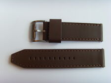 FOSSIL Original Ersatz Lederarmband JR1424 Uhrband watch strap braun 24 mm brown