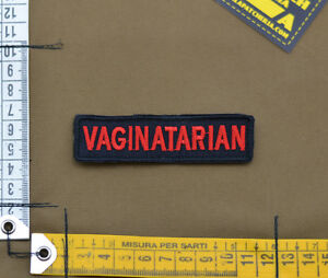 Ricamata-Embroidered-Patch-034-Vaginatarian-034-with-VELCRO-brand-hook