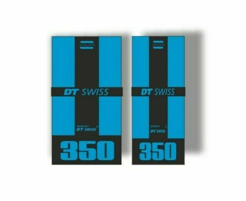 DT Swiss 350 Bicycle Hub Decal Road MTB Sticker Adhesive Set Blue 2 Pcs