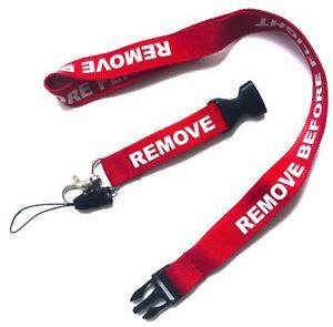 REMOVE-BEFORE-FLIGHT-Lanyard-ID-Neck-Strap-DJI-Drone-Parrot-Phantom-RAF-Aviation