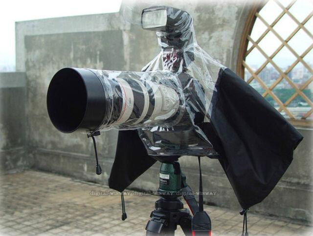 Rain cover Camera Protector for Canon Nikon Pendax Olympus Panasonic DSLR Camera