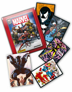 PANINI-MARVEL-80-YEARS-ANNIVERSARY-individual-STICKERS-AND-CARDS-COLLECTION-2020
