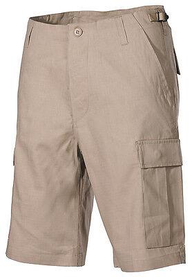 Us Bdu Bermuda Army Cachi Beige Shorts Pantaloni Corti Con Tasca Laterale Xlarge-mostra Il Titolo Originale