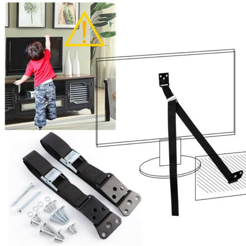 TV Furniture Strap Anti-tip Safety Anchor Fixing Belt for TV Bookcase Wardrobe