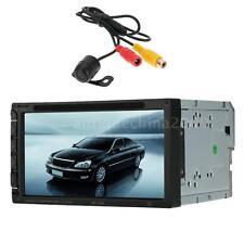 2 Din 7inch Car DVD Player Support MP4 USB SD Bluetooth Radio + Mini Camera O2G6