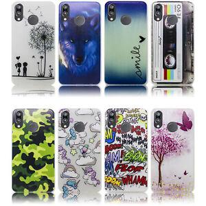 Huawei-P20-LITE-Huelle-Silikon-Smartphone-Handy-Huelle-Schutz-Huelle-Case-Cover