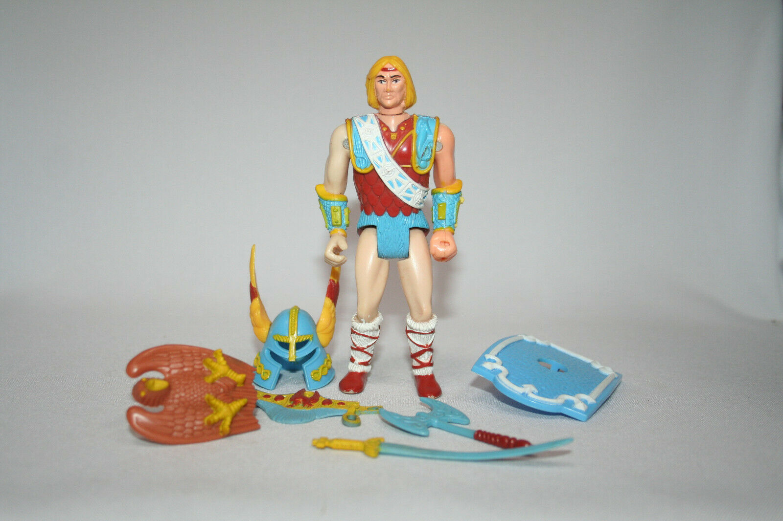 Vintage LJN Advanced Dungeons & Dragons AD&D Northlord Shield Shooter completare