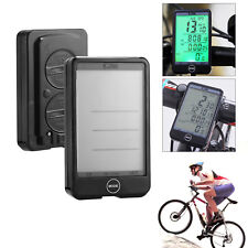 Automatic LCD Road Bicycle Bike Wireless Computer Speedometer Touch Screen