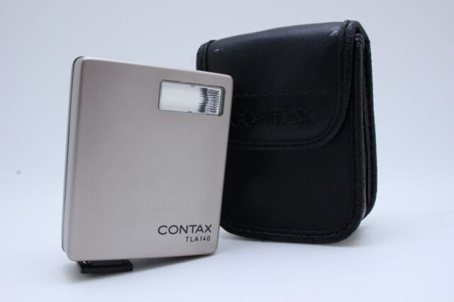 【NEAR MINT】Contax TLA 140 Shoe Mount Flash for G1 G2  From JAPAN #9023
