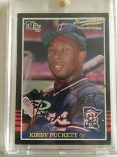 2001 KIRBY PUCKETT Donruss 20th Anniversary Rookie Reprint Auto #1/1