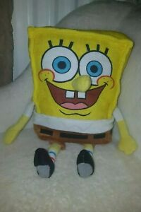 Spongebob-Square-Pants-Nickelodeon-Plush-Toy-2015-only-one-on-ebay