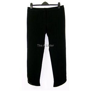 Women Ladies New Aqua Skinny Smart Formal Zip Cropped Trousers//Pants UK 8-16