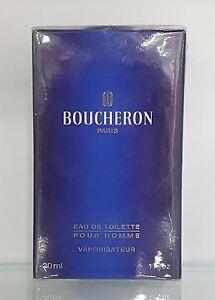 Boucheron-Boucheron-pour-Homme-Eau-de-Toilette-30ml-Spray-Neuf-amp-Rare