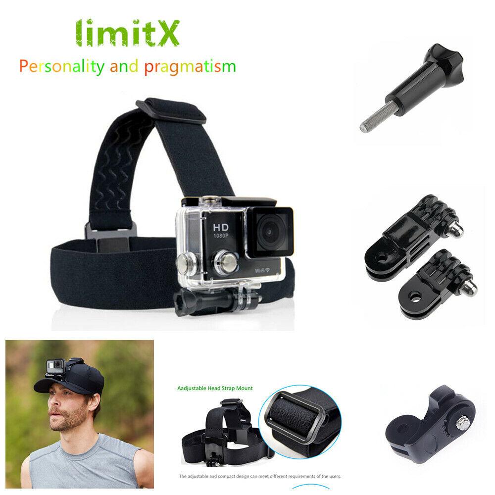 Accessories Head Strap Mount Belt Elastic Headband for Sport Action Cam Camera