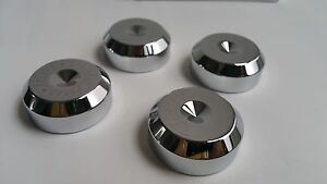 Details about 4x hifi IsoClean TT-008 Tip Toe Base Speaker spikes stand  feet pad 38*15mm