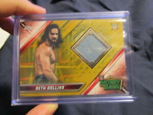 2019-WWE-TOPPS-RAW-SETH-ROLLINS-MONEY-IN-THE-BANK-RELIC-CARD-6-10