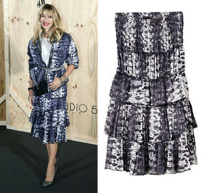 8e7adf93a3 Image is loading ISABEL-MARANT-for-H-amp-M-silk-skirt-