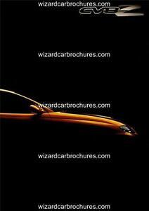 2005 HOLDEN MONARO CV8Z A3 POSTER AD ADVERT ADVERTISEMENT SALES BROCHURE MINT