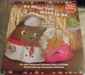 BRAND-NEW-Book-Small-Potatoes-Be-What-You-Want-to-Be-Sing-Along-Storybook-CD