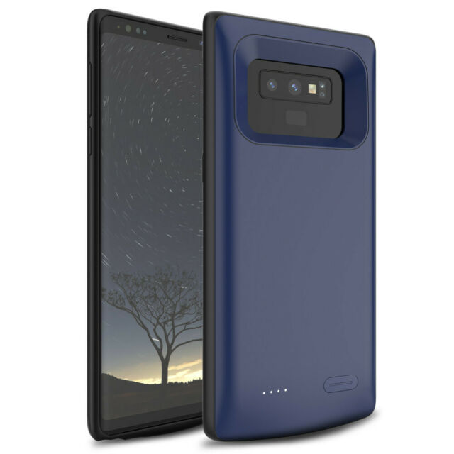 best loved b99d7 77664 5000mAh Extended Battery Case Power Bank Charging Cover Fr Samsung Galaxy  Note 9
