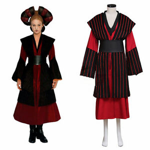 Star Wars Episode1 Cosplay Costume Queen Padme Amidala Adult Costume Custom Made Ebay