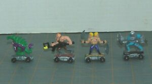 Lot-of-4-Kenner-SAVAGE-MONDO-BLITZERS-Figures-1991-034-Dudes-of-Disaster-034