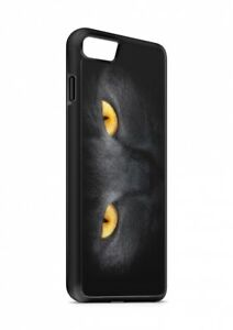 iPhone-GATO-NEGRO-GATO-Silicona-Funda-Plegable-Funda-Funda-Protector-movil