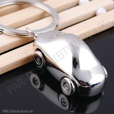 Father,s Day Gift Finest Quality Jaguar Metal Chrome Car Key Ring Fob Keyring UK
