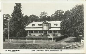 OAKLANDS GUEST HOUSE MITTAGONG NSW PHOTO POSTCARD