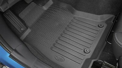 Weather Car Mats >> Genuine OEM 2019-2020 Subaru Forester All Weather Floor ...