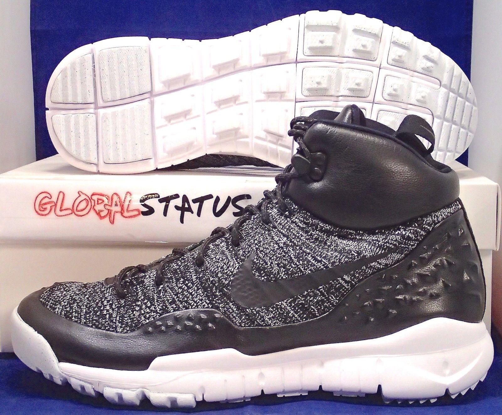 Nike Hombre lupinek Flyknit negro Oreo blanco zapatos de sneakerBotas Oreo negro 862505 001 tamaño 9,5 nuevos zapatos para hombres y mujeres, el limitado tiempo de descuento 667fc1