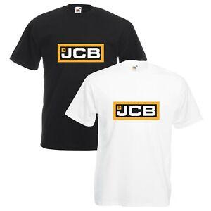 JCB-T-Shirt-Bulldozer-Digger-Dump-Truck-Enthusiast-VARIOUS-SIZES-amp-COLOURS