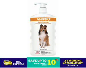 Canaan Anipro Sulphur Shampoo 500ml Relieves Skin Problem Effectively DHL SHIP