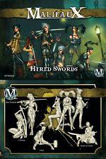 Malifaux Outcast Hired Swords Viktoria box set plastic Wyrd miniatures 32mm