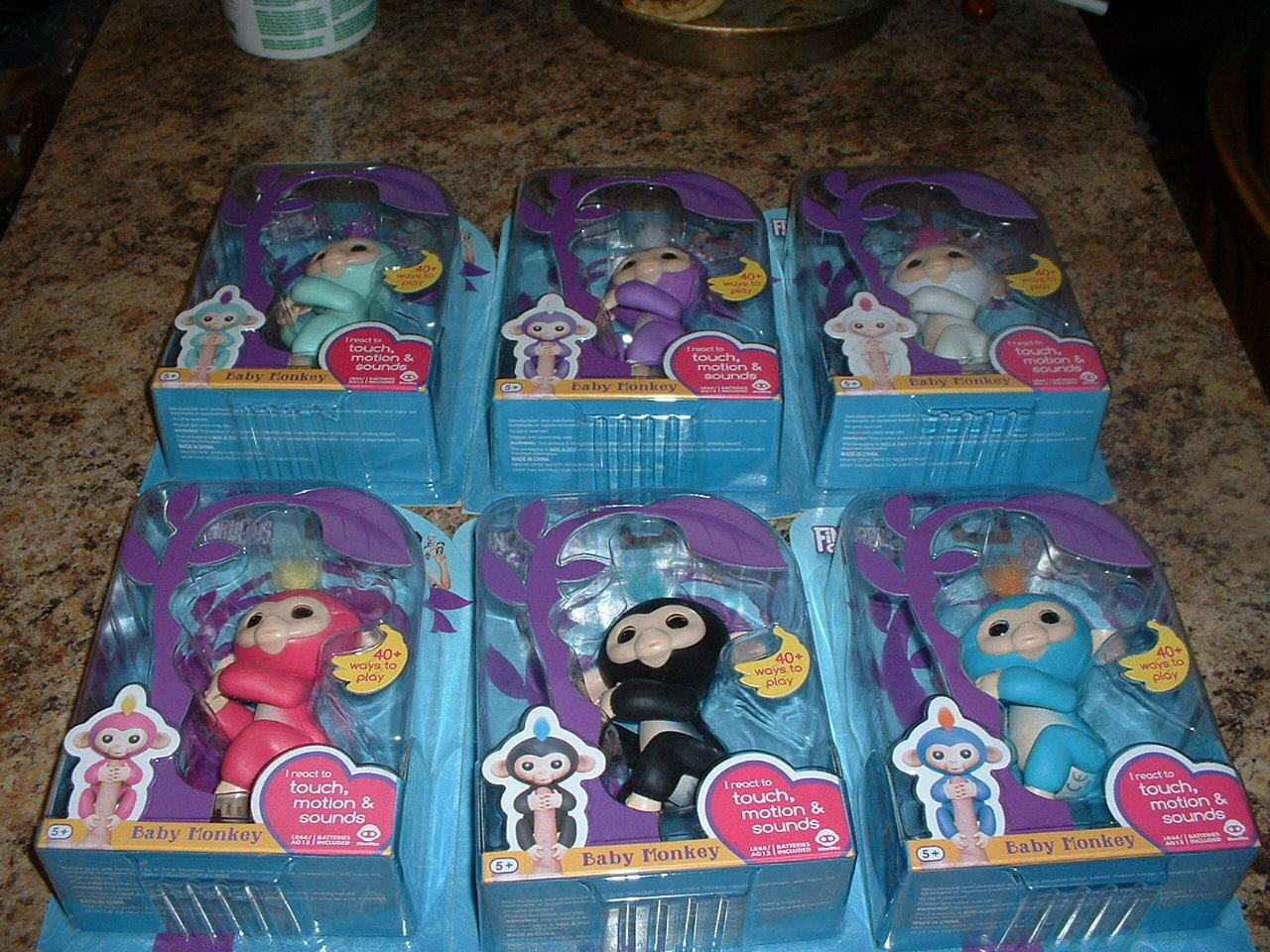 Satz von 6 fingerlings - new in box startklar
