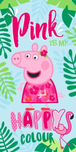 Peppa Pig Handtuch Strandtuch Duschtuch 70 x 140 cm