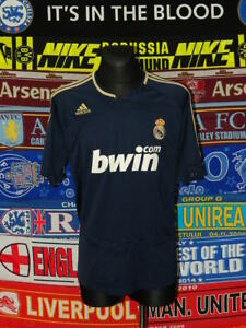 4.5 5 Real Madrid adults XL away 2007 football shirt jersey camiseta ... ebacfea74