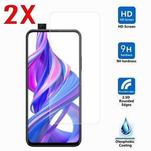 2PCS-Tempered-Glass-Screen-Protector-Film-For-Huawei-Honor-9X-8X-7-8-9-10-Lite-D
