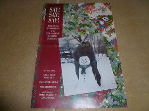 Paul-McCartney-Wings-Fun-Club-Sandwich-Magazine-72-Winter-1994-Beatles