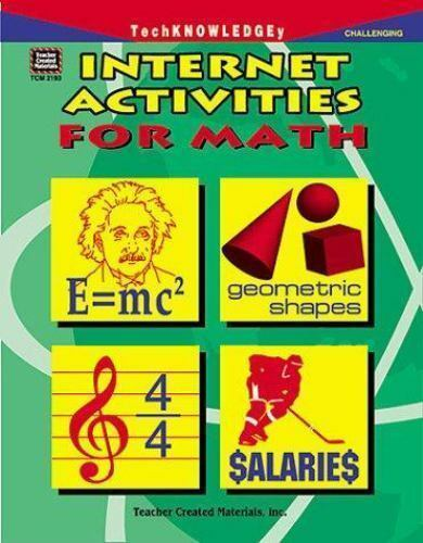 Internet Activities for Math by Walter Sherwood (1998, Trade Paperback, New...