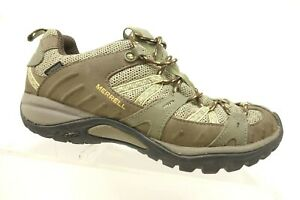 Merrell-Brown-Leather-Lace-Up-Athletic-Sport-Trail-Hiking-Shoes-Women-039-s-7-5