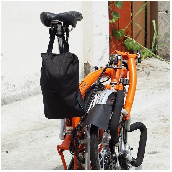 BIKE COVER  FOR BROMPTON VINCITA Foldable &Attachable to saddle water resistant  fast shipping